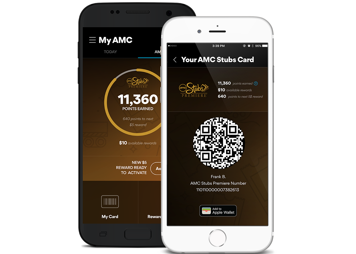 photo about Amc Printable Tickets known as Cellular Application