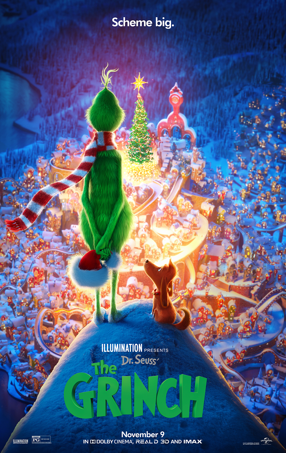 Dr Seuss The Grinch At An Amc Theatre Near You