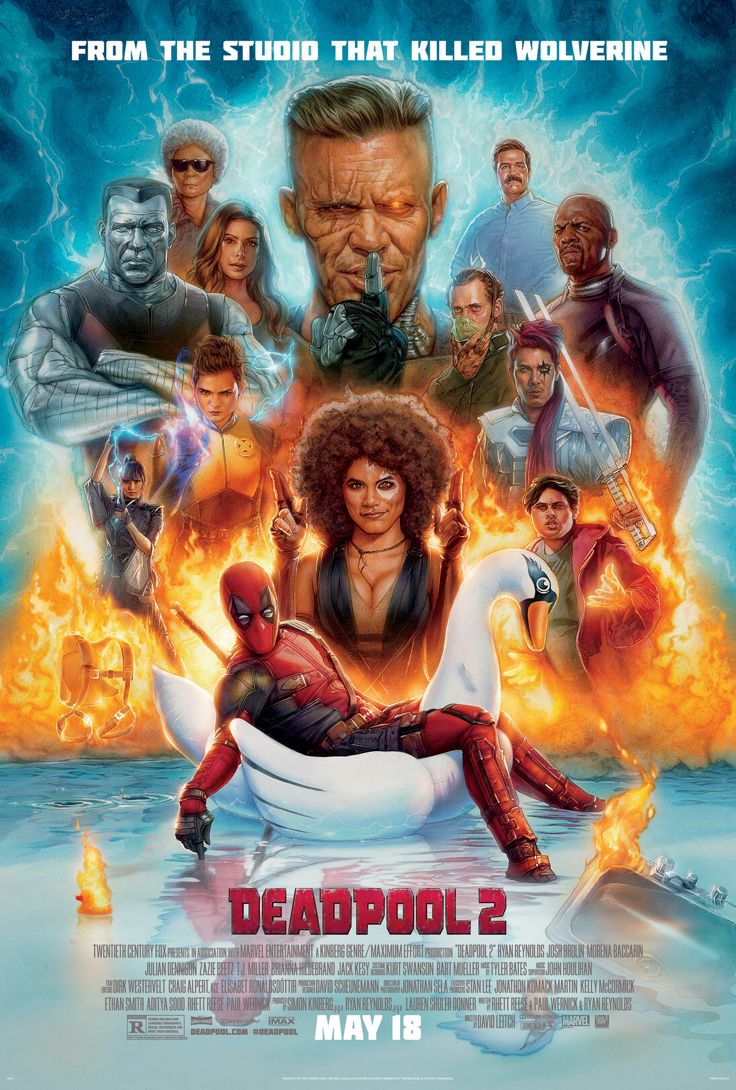 Deadpool 2 At An Amc Theatre Near You