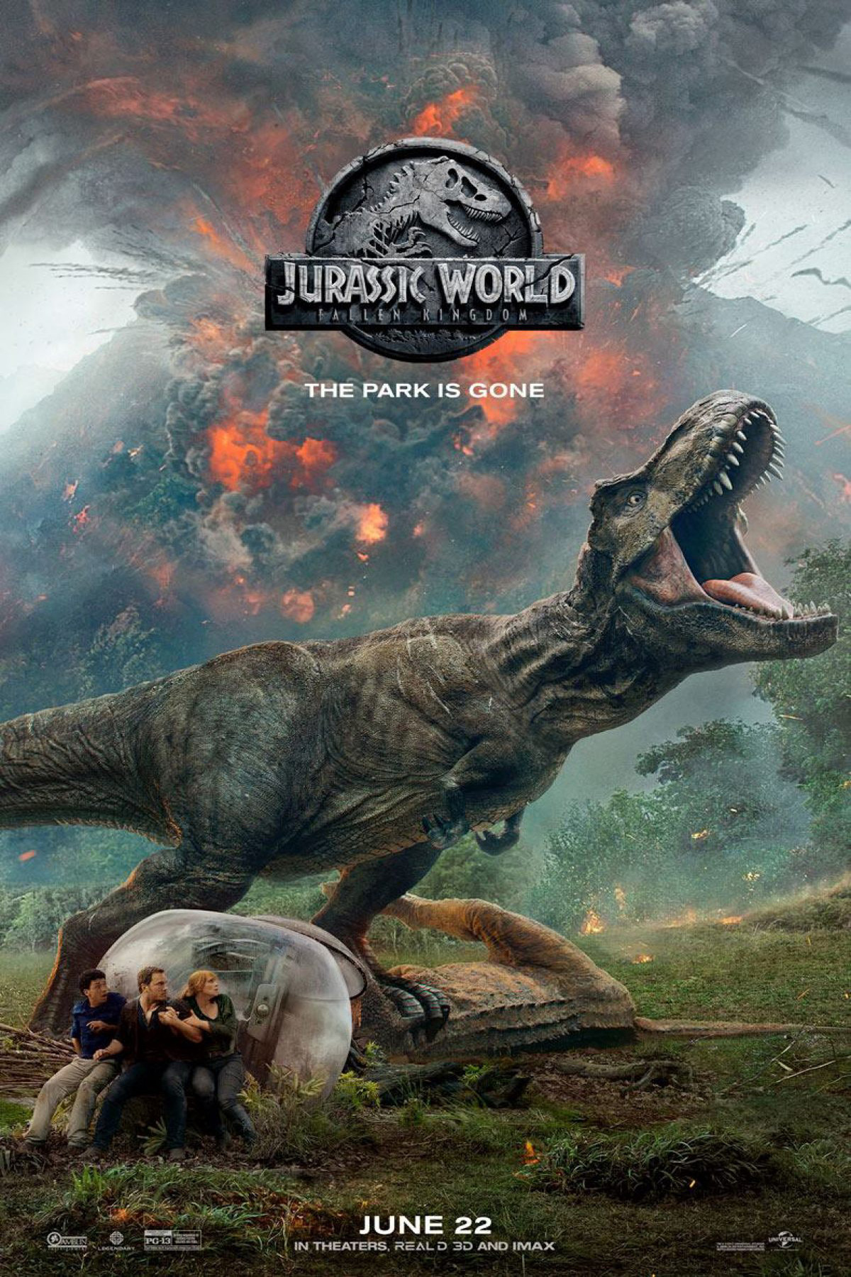 Jurassic World: Fallen Kingdom at an AMC Theatre near you