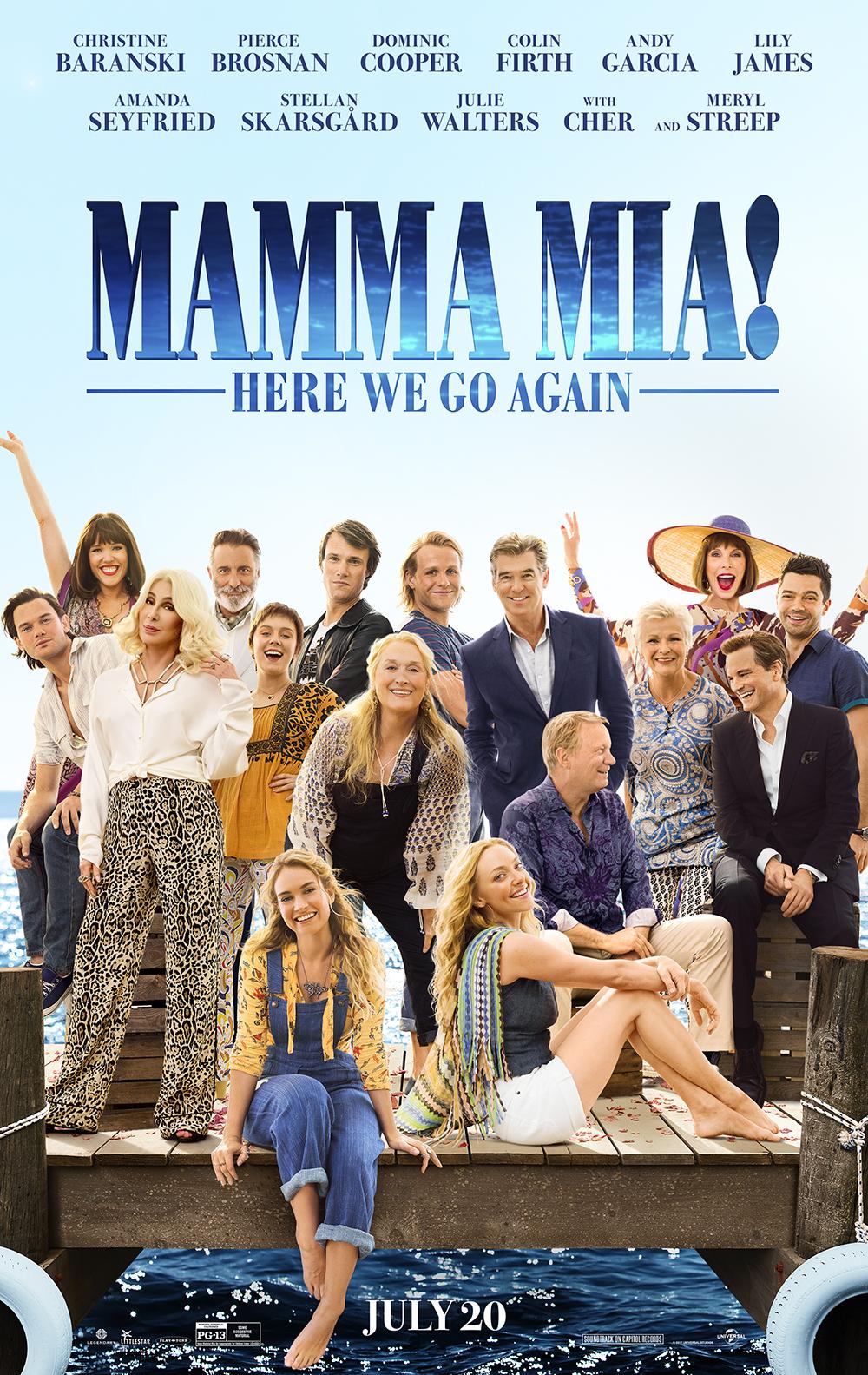 Mamma Mia Here We Go Again At An Amc Theatre Near You