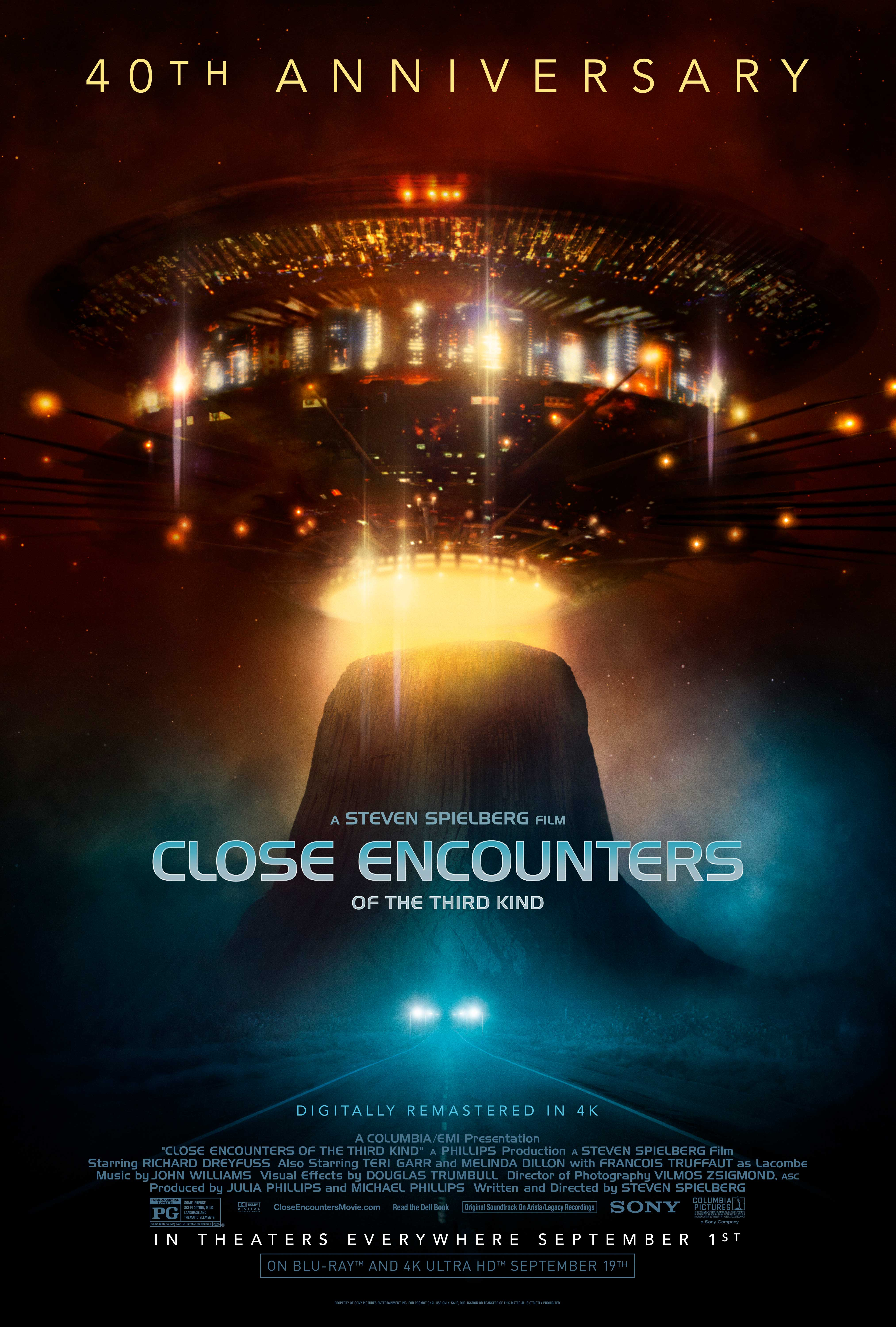 Close Encounters of the Third Kind (re: 2017) at an AMC