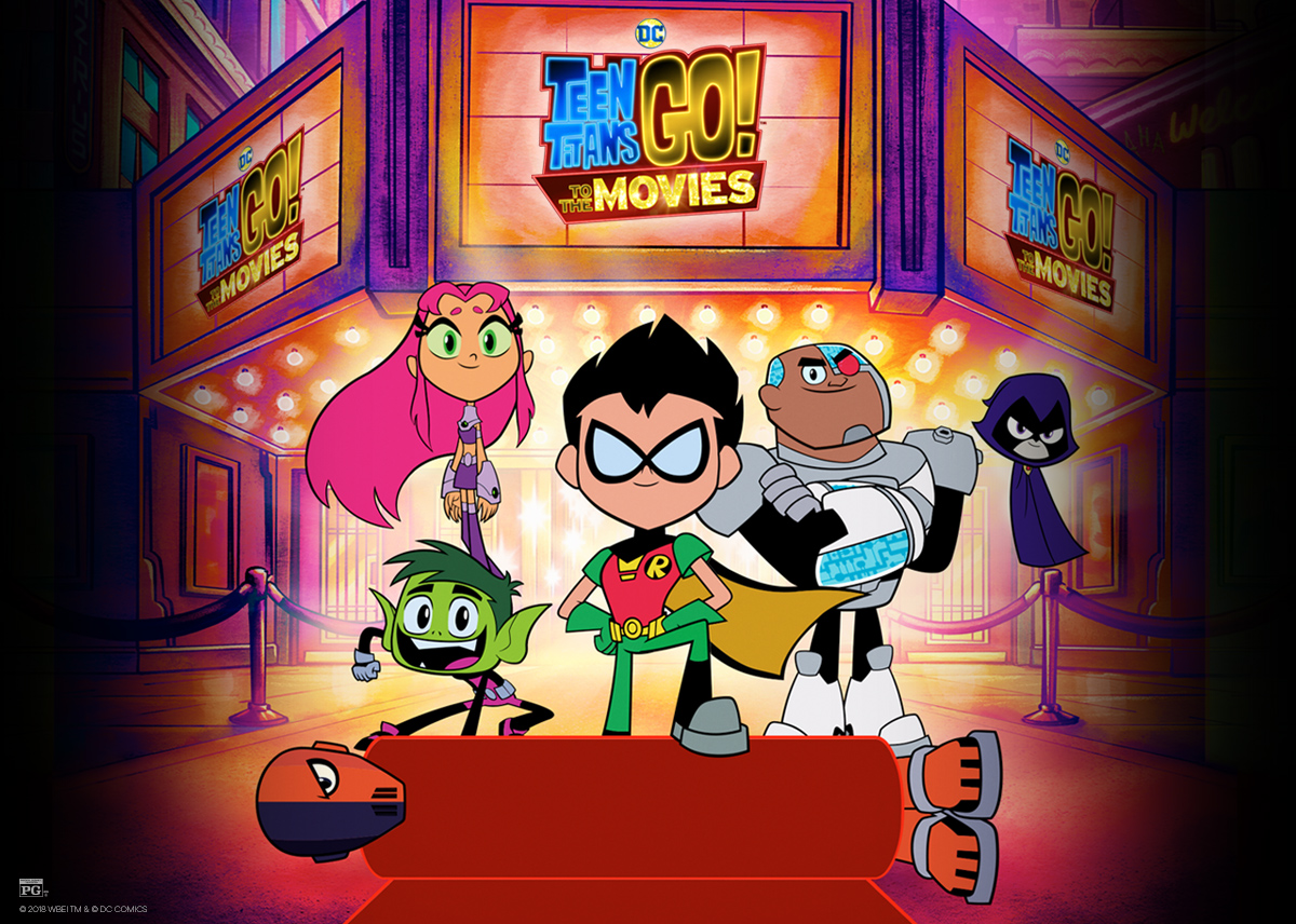 Teen Titans Go! To The Movies at an AMC Theatre near you