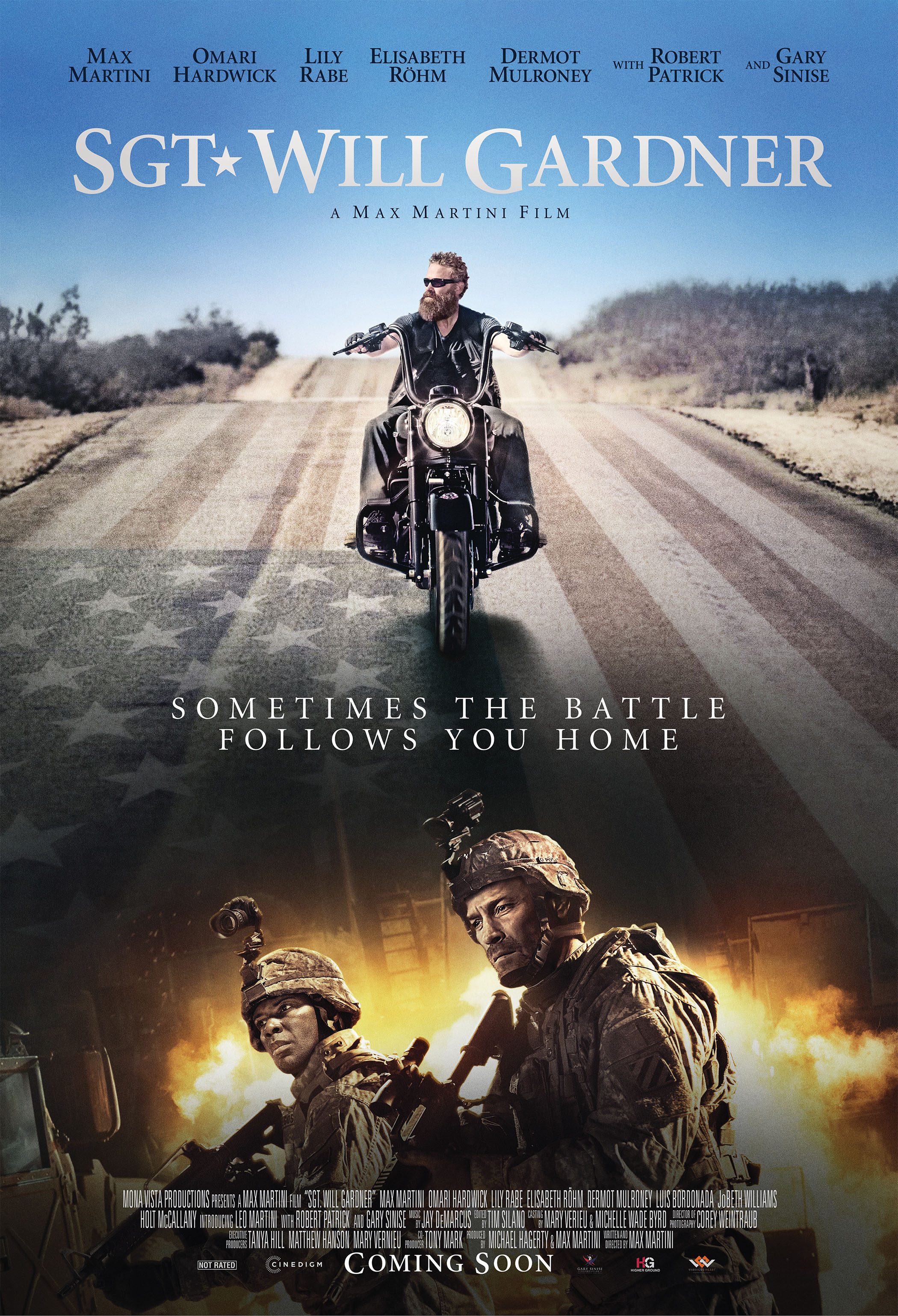 Sgt  Will Gardner at an AMC Theatre near you