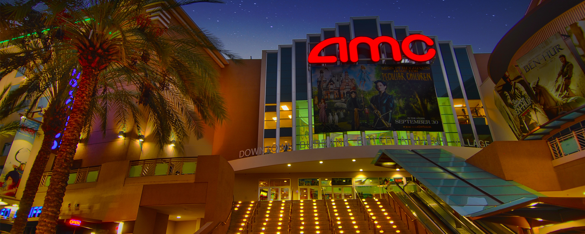 AMC Burbank 16 On First Between Magnolia and Orange Grove