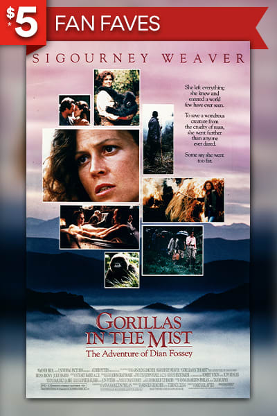 Gorillas In The Mist: The Story of Dian Fossey Movie Poster