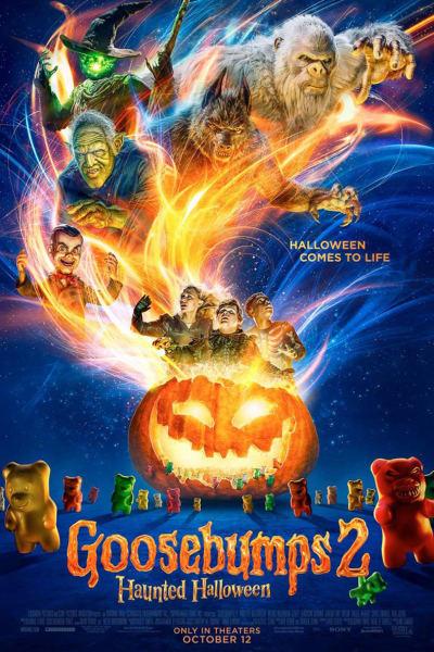 Goosebumps 2: Haunted Halloween Movie Poster
