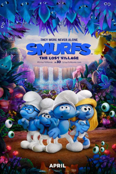 Sensory Friendly Showing of Smurfs: The Lost Village - Celebrate with these spring events while on Vacation at Plantation Resort in Myrtle Beach!