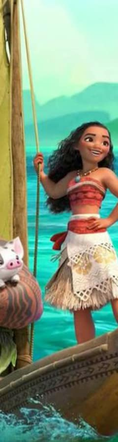 Movie still from Dream Big, Princess: Moana