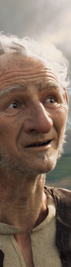 Movie still from The BFG