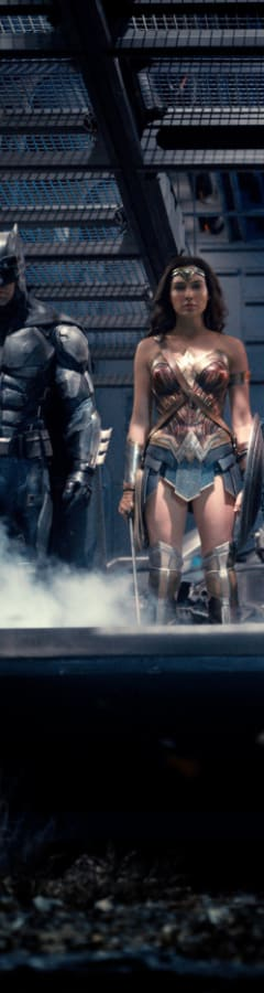 Movie still from Justice League