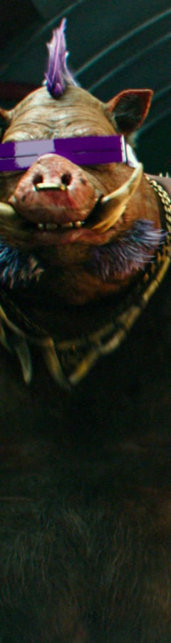 Movie still from Teenage Mutant Ninja Turtles: Out of the Shadows