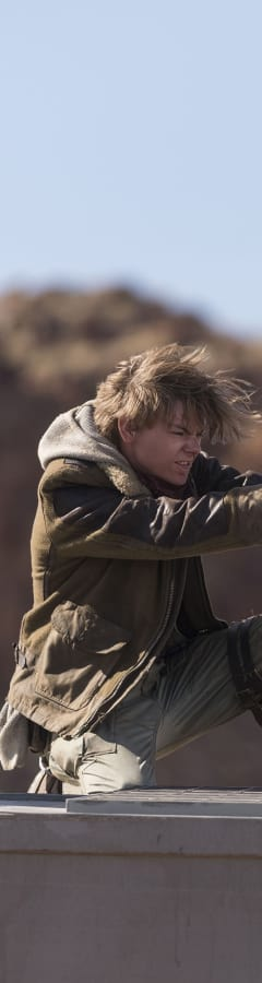 Movie still from The Maze Runner: The Death Cure