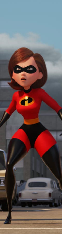 Movie still from Incredibles 2