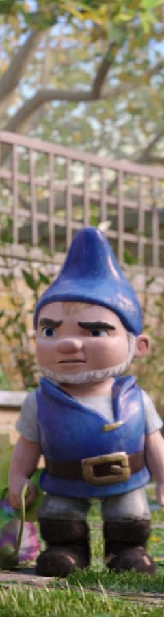 Movie still from Sherlock Gnomes