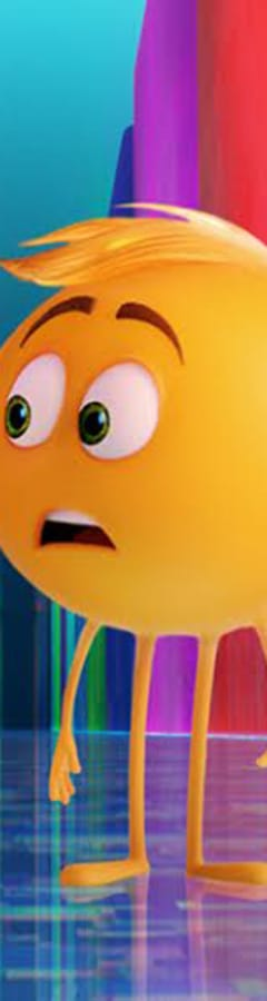 Movie still from The Emoji Movie