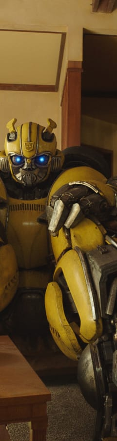 Movie still from Bumblebee