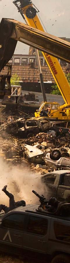 Movie still from Transformers: The Last Knight