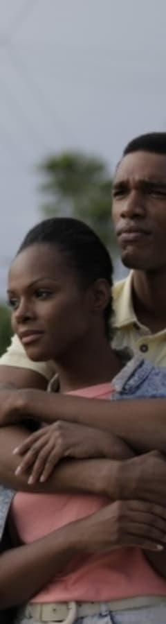Movie still from Southside With You