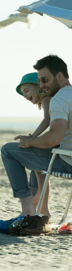 Movie still from Gifted