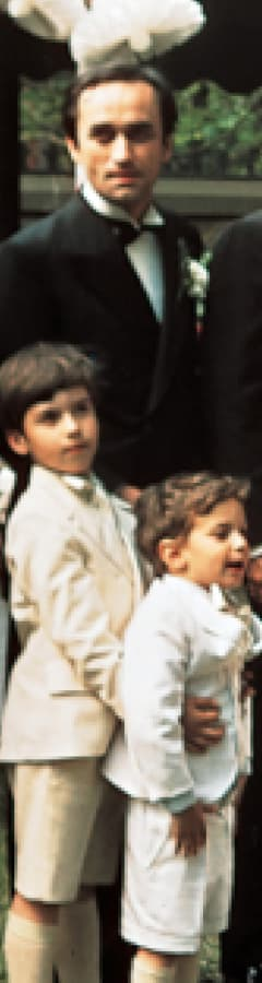 Movie still from The Godfather (1972) presented by TCM