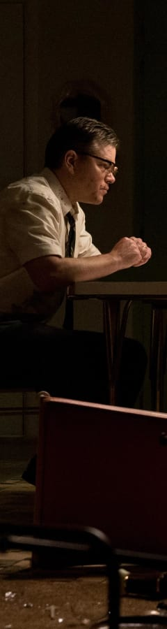 Movie still from Suburbicon