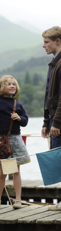 Movie still from Swallows & Amazons