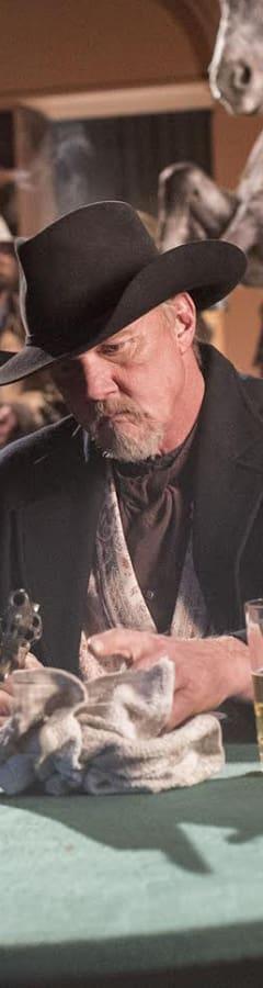 Movie still from Hickok