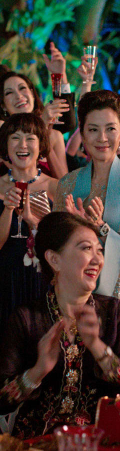 Movie still from Crazy Rich Asians