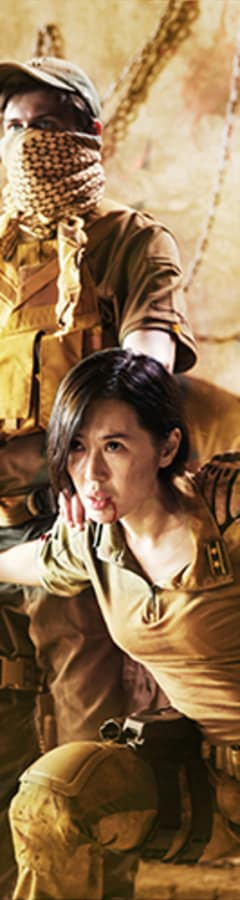 Movie still from Wolf Warrior 2