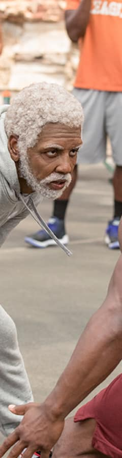 Movie still from Uncle Drew