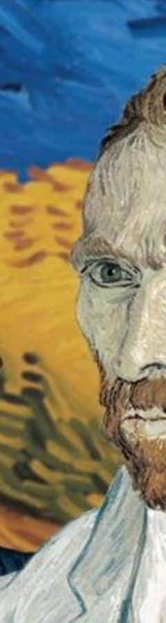 Movie still from Loving Vincent