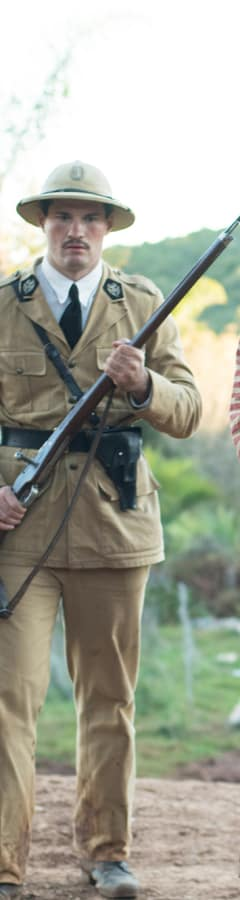 Movie still from Papillon