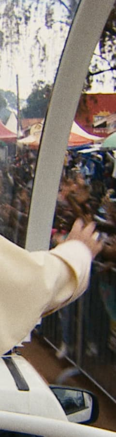 Movie still from Pope Francis - A Man Of His Word