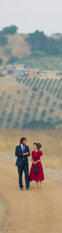 Movie still from Destination Wedding