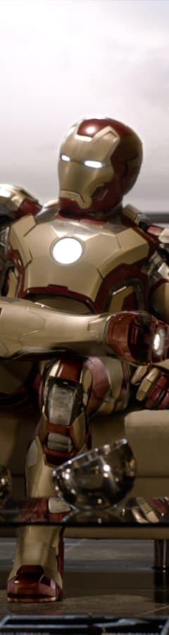 Movie still from Marvel Studios 10th: Iron Man 3