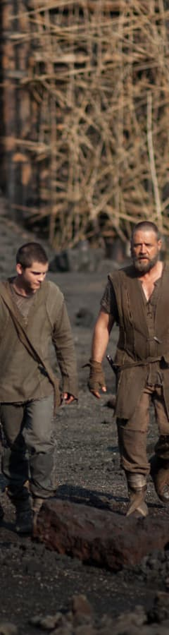 Movie still from Noah