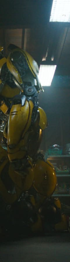 Movie still from Bumblebee Early Access Screening