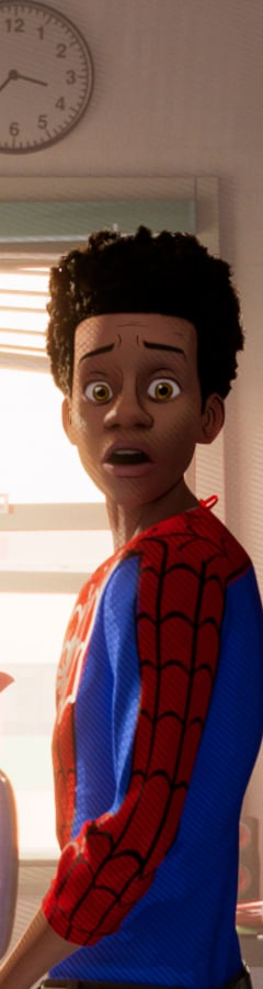Movie still from Spider-Man: Into The Spider-Verse