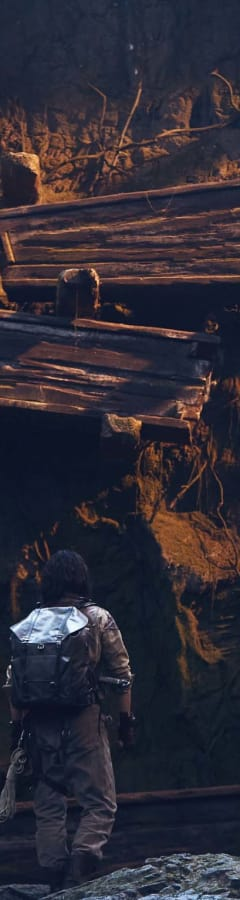 Movie still from Mojin: The Worm Valley