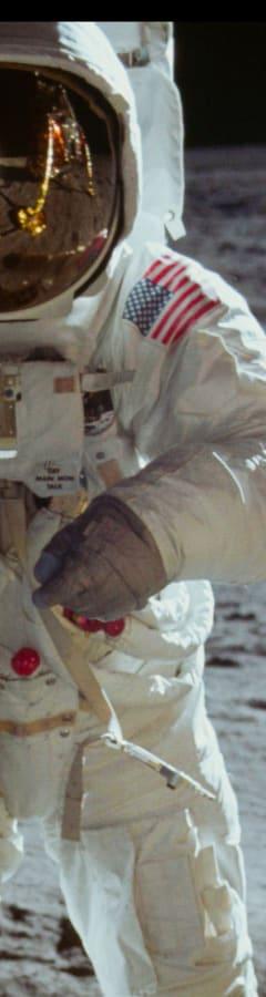 Movie still from Apollo 11