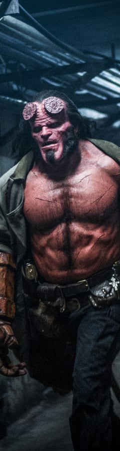 Movie still from Hellboy