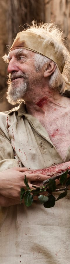 Movie still from The Man Who Killed Don Quixote
