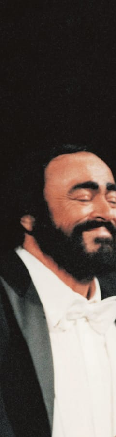 Movie still from Pavarotti Premiere Screening Event