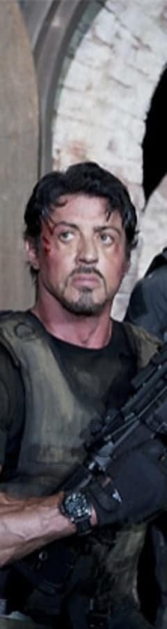 Movie still from The Expendables