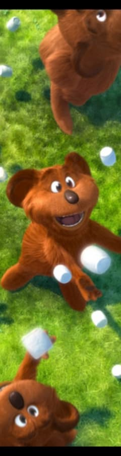 Movie still from Dr. Seuss' The Lorax