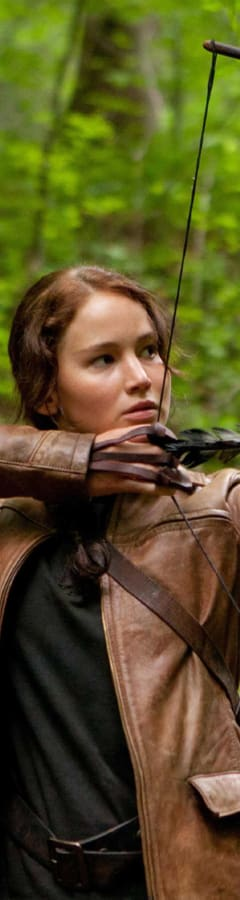 Movie still from The Hunger Games