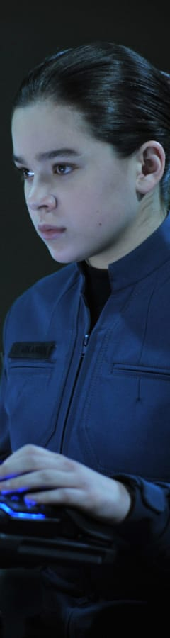 Movie still from Ender's Game