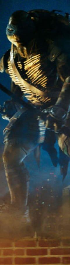 Movie still from Teenage Mutant Ninja Turtles