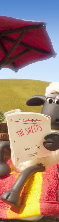 Movie still from Shaun The Sheep